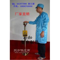 制药厂人体静电消除器/防静电释放装置接地静电柱图片