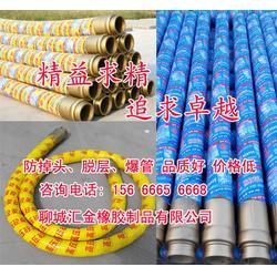 喷砂泵橡胶软管-聊城汇金-营口砼泵车软管图片