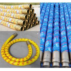 酒泉胶管-聊城汇金泵管-橡胶泵管打桩机胶管图片