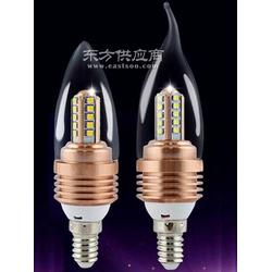 新款e14蜡烛灯 小螺口尖泡 3w灯泡拉尾泡图片