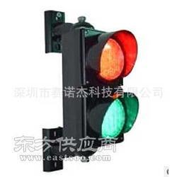 100mm红绿交通灯 两单元停车场红绿交通信号灯图片