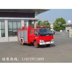 江铃国四水罐消防车图片