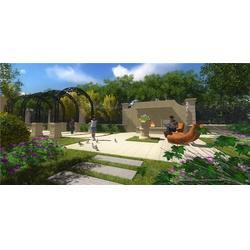 西安别墅庭院设计_陕西观源景观设计_别墅图片