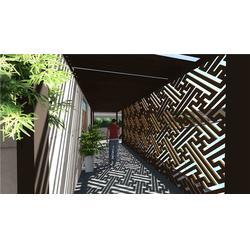 西安屋顶花园,陕西观源景观设计,铜川别墅屋顶花园图片