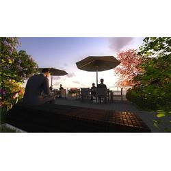 宝鸡公寓屋顶花园 陕西观源景观设计 长武屋顶花园图片