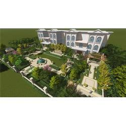 汉中别墅景观精致设计,略阳汉中别墅景观,陕西观源景观设计图片