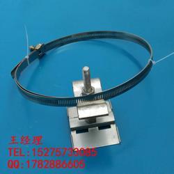 供应杆用紧固件 OPGW光缆引下线夹镂空钢带1.2米图片