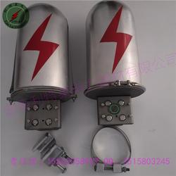 adss/opgw光缆杆用铝合金接头盒 光缆中间接头盒 光缆接续盒山东生产厂家图片