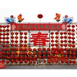四川大型花灯灯展-红灯笼花灯厂-大型花灯灯展图片