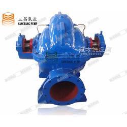 CCTV报道三昌泵业双吸中开泵300S19水泵图片