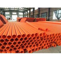管材色母粒-江源色母粒-桔红电力管材色母粒图片