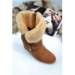琳珑商贸 雪地靴皮毛一体-雪地靴图片