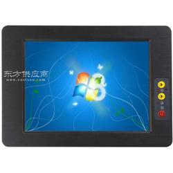 8寸触摸车载电脑 GPRS/3G无风扇嵌入式工业平板电脑图片