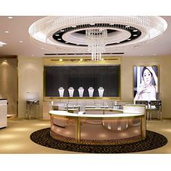 中式珠宝店装修、珠宝店装修、美美哒装饰(查看)图片