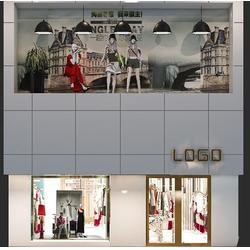 服装店装修设计-服装店装修设计方案-美美哒装饰价格