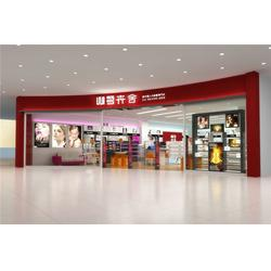 广州实木化妆品展柜|巨美妆配|化妆品展柜图片