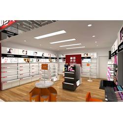 化妆品展柜订做、巨美妆配、化妆品展柜图片