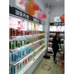 巨美妆配(图)、铁艺化妆品柜台、银川化妆品柜台图片