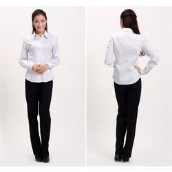职业衬衫订做生产厂家-旺龙制衣厂-常平职业衬衫订做图片