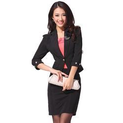 職業裝定制報價-旺龍服飾質高價優-職業裝定制圖片