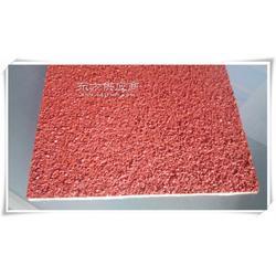 无毒环保产品 塑胶跑道材料 透气颗粒型环保材料图片