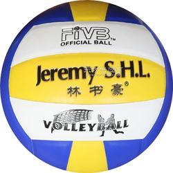 5号PVC机贴排球体育用品厂家直销特价林书豪排球图片