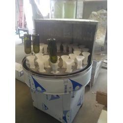 间歇式洗瓶机_强盛回转式洗瓶机(在线咨询)_洗瓶机图片