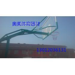 槽钢底座篮球,电动液压篮球架,标准篮球架图片