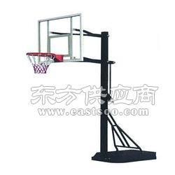 槽钢底座篮球,忻中小学移动篮球架图片