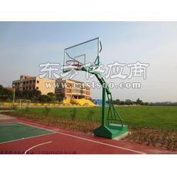 玻璃钢篮球板中小学移动篮球架图片