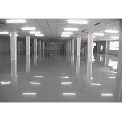 龙岗电子厂防静电地板|合为达地坪漆|防静电地板图片