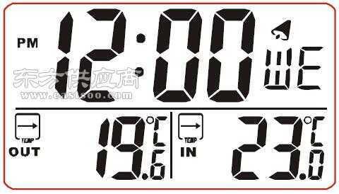 室内外温度计iclt2401b805b图片