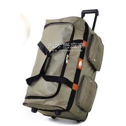 大容量多功能拉杆包定制行李包定做图片
