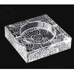 水晶烟灰缸礼品定做图片