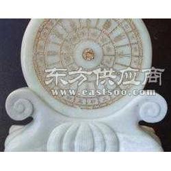 蓝田玉日晷纯手工日晷礼品订做供应图片