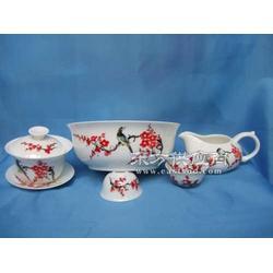 供应礼品彩瓷茶具图片