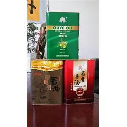 龙波森金属包装(图) 3L食用油铁罐包装 食用油铁罐图片