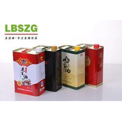 核桃油铁罐包装-龙波森金属包装(在线咨询)-铁罐包装图片