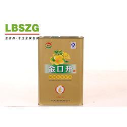 龙波森金属包装 椰子油铁罐包装-铁罐包装图片