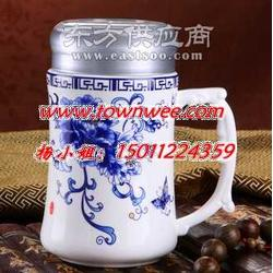 高檔保溫杯廣告杯定做陶瓷杯子定做禮品杯陶瓷蓋杯圖片