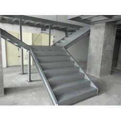 中赛钢结构工程(图)|搭建钢结构楼梯优势|钢结构楼梯图片