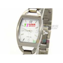 钛手表 零售 钛女士腕表 防水手表 方宇科技图片