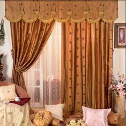 西安七彩窗帘布艺(图),客厅窗帘什么颜色好,莲湖区窗帘图片