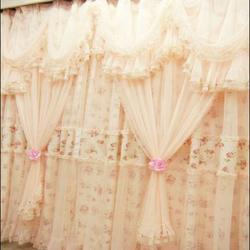 西安七彩窗帘布艺(图)、窗帘样式、高新窗帘图片