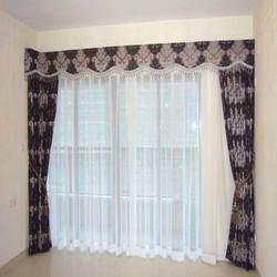 窗帘效果图|西安七彩窗帘布艺(在线咨询)|碑林窗帘图片