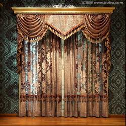 窗帘|西安七彩窗帘布艺|西安窗帘图片