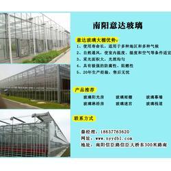 郑州玻璃大棚、意达玻璃质优价低(在线咨询)、玻璃大棚图片