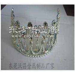 訂做鋅合金皇冠頭飾鋅合金飾品配件加工圖片