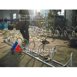 自行车停放架 环形自行停车架图片