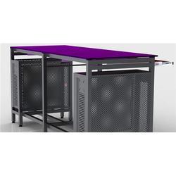 郑州网吧桌椅多少钱_红蚂蚁网吧家具_网吧桌椅多少钱图片
